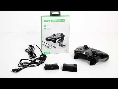 prif Xbox One Twin Charging Pack Unboxing and Setup
