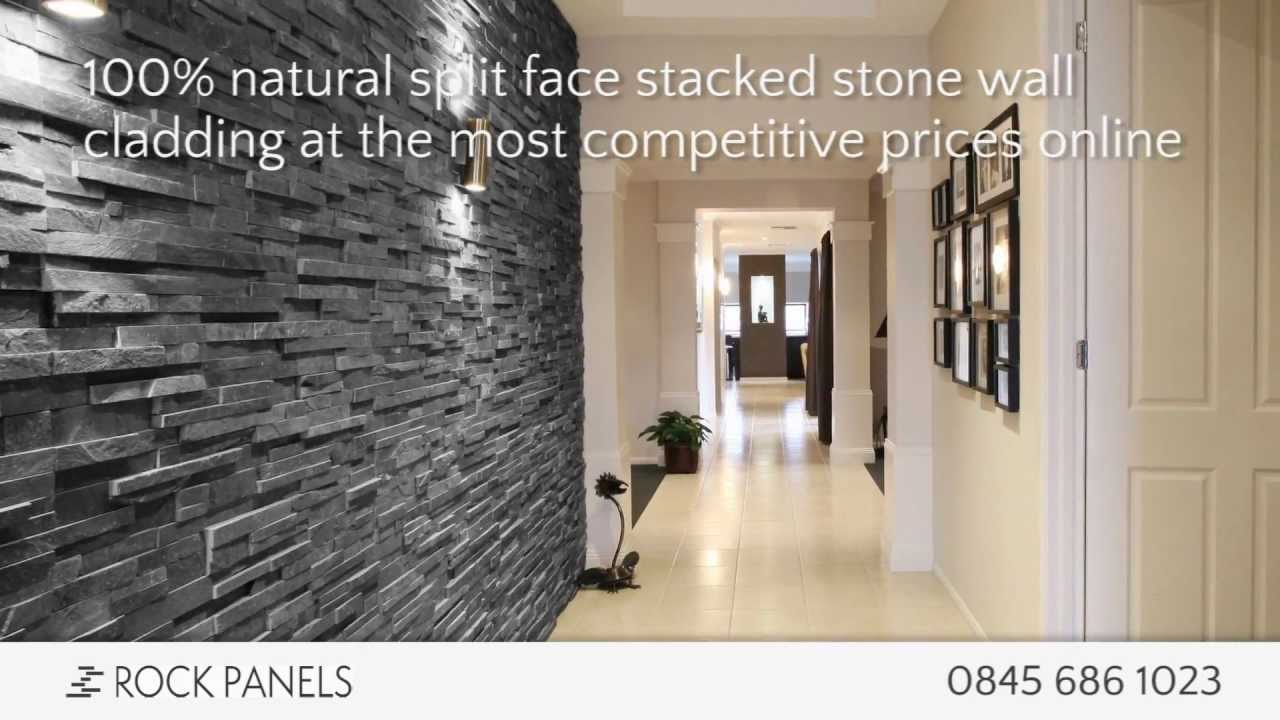 rock panels stacked stone wall cladding split face stone tiles natural stone wall cladding youtube