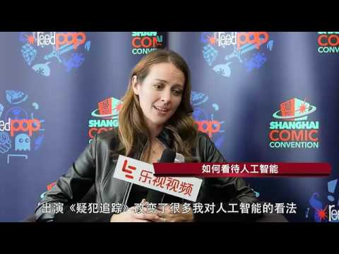 """LETV SHCC""""Root"""" Amy Acker interview"""
