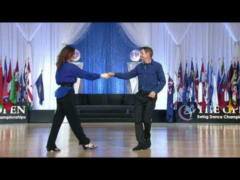 2017 Strictly Swing Masters - Gary Thompson & Laura Thompson - The Open