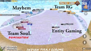 SouL vs Orange Rock, RIP & Entity • PMCO Scrims Highlights • Villager Esports