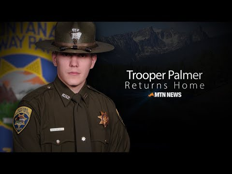 VIDEO: Trooper Palmer comes home to Montana