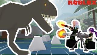 Roblox: Chasseur de dinosaures 🦖 / JURASSIC PREDATORS! / CHASSER OU ÊTRE CHASSÉ!