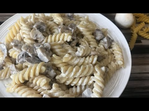 Pizza Hut Style Creamy Mushroom Pasta Youtube