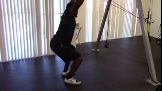 EricCressey.com: J-Band Assisted Overhead Squats