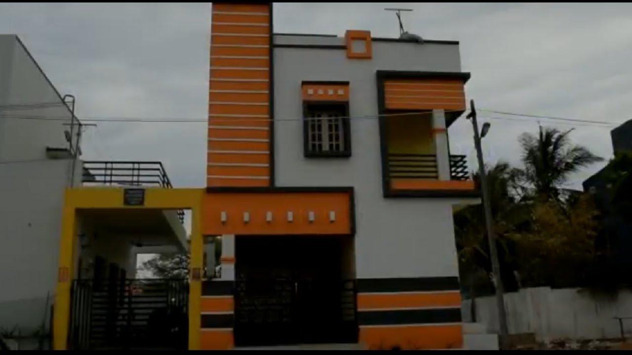 20x30 Independent 2bhk Duplex House With Modular Kitchen