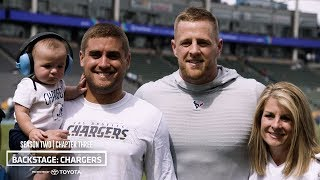 A Watt Family Reunion, Keenan's Career Day & Back to Winning Ways | Backstage: Chargers Ch. Three