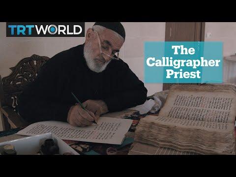 Saving an ancient Assyrian language through calligraphy