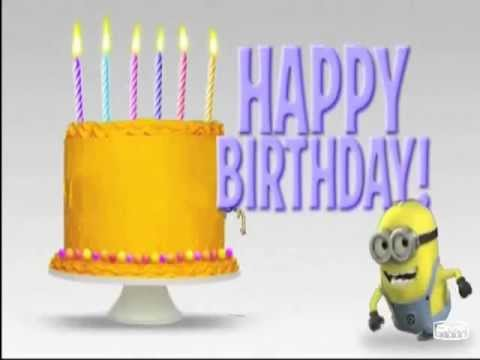 Happy Birthday Minions Youtube