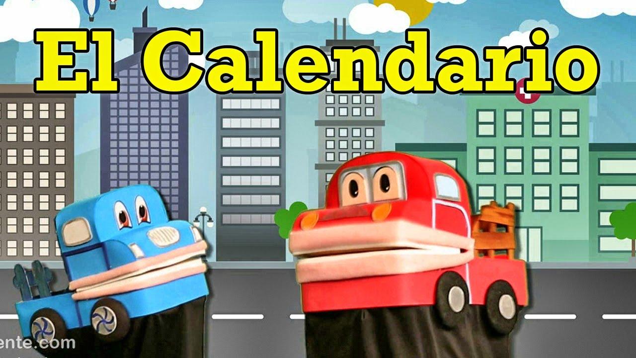 Calendario Para Ninos De Kinder.El Calendario Video Educativo Para Ninos En Espanol Barney El Camion