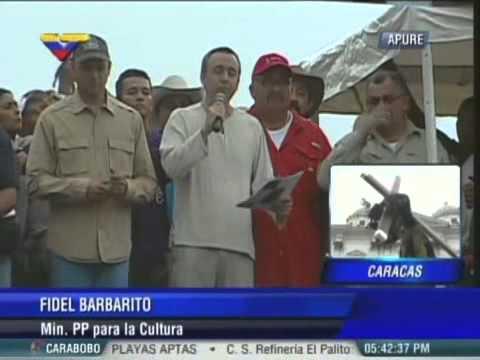 MInistro Barbarito declara Procesión del Nazareno de Achaguas como Patrimonio de la Nación