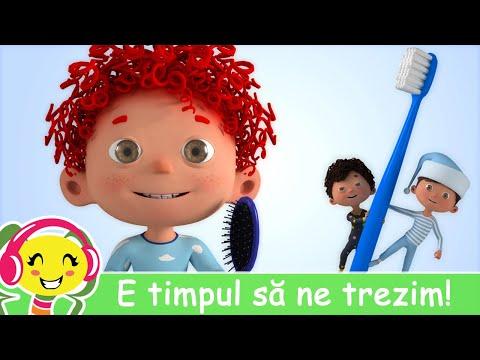 E timpul sa ne trezim!  Buna Dimineata  – Cantece pentru copii si bebelusi – Cantece pentru copii in limba romana