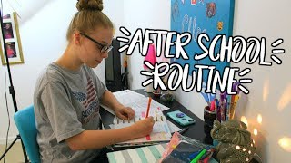 My After School Routine! Back To School 2017!  || Chloe's Crazy Life