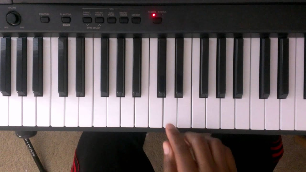 B Flat Chord Piano Left Hand Major Scales: H...