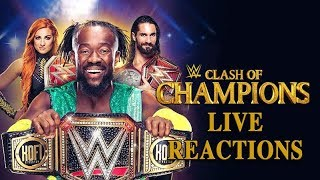 WWE Clash Of Champions 2019: Live Reactions