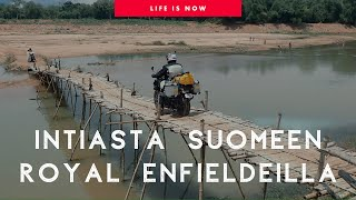 Intiasta Suomeen Royal Enfildilla | From India to Finland on Royal Enfield 2018 | PeterPanBike