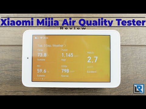 Xiaomi Mijia Air Quality Tester Review (USB-C TVOC CO2 PM2.5 Temperature And Humidity Measurement)