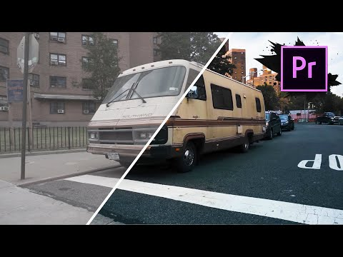 Color Grading Tutorial - How To Get The CINEMATIC LOOK In Premiere Pro CC
