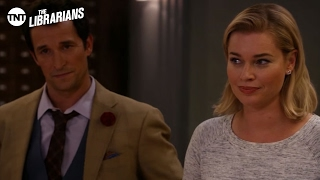 The Librarians: Loom of Fate [CLIP] | Librarians Book | TNT