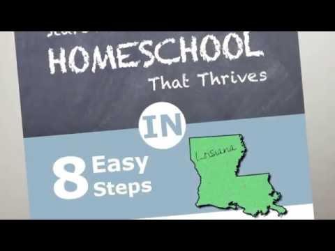 How to Homeschool in Louisiana and Louisiana Homeschool Laws