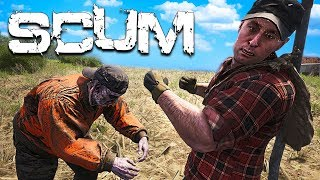 Searching for Military Loot in the Zombie Apocalypse!! (SCUM Gameplay Survival)
