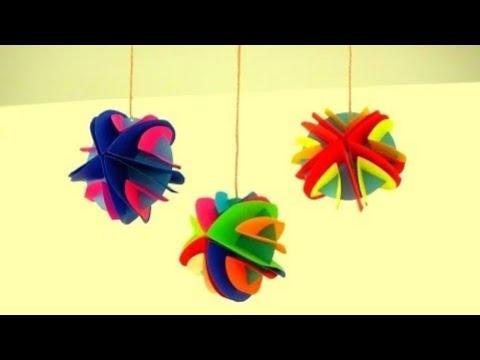 DIY Room / Wall Hanging Decor For X\'mas/New year/Diwali ~ X\'mas Tree ...