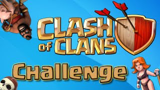 Clash of Clans | YouTube Challenge - ATTACK OF THE DERPY VALKYRIES
