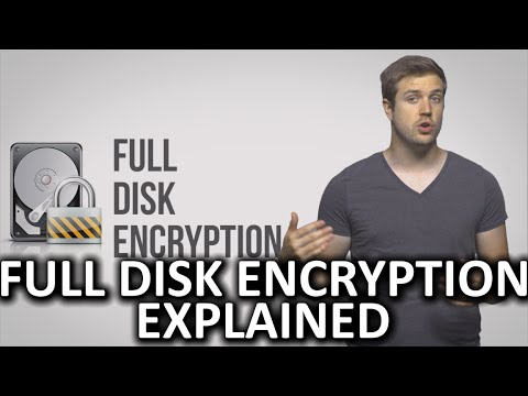 How Does Full Disk Encryption Work?