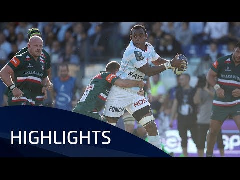 Racing 92 v Leicester Tigers (P4) - Highlights – 14.10.2017