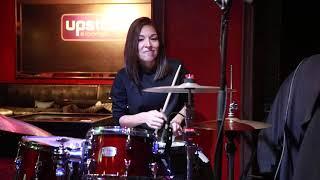 Girl Facing South EP Launch (Drum Solo) Live at Ronnie Scott's - The Migdalia van der Hoven Quartet