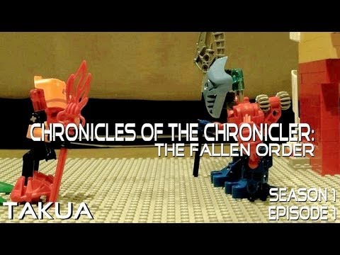 Chronicles of the Chronicler: The Fallen Order - Episode 1: Takua (Bionicle Stop-Motion)