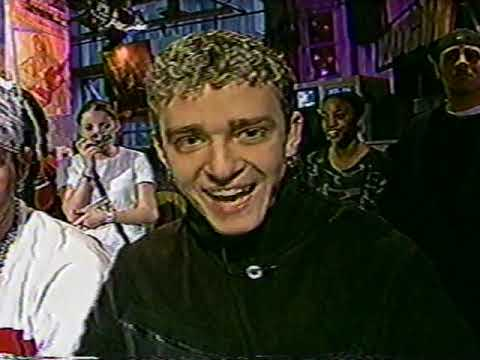 Nsync live at MuchMusic interview (part 1 only)