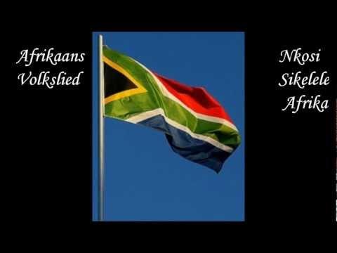 Afrikaans volkslied Nkosi Sikele Africa