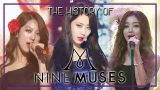 NINE MUSES Special ★Since Debut to 'Remember'★ (49m …