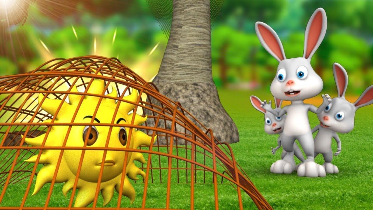 शिकारी खरगोश - Rabbit The Hunter 3D Animated Hindi Moral Stories | JOJO TV Hindi Stories