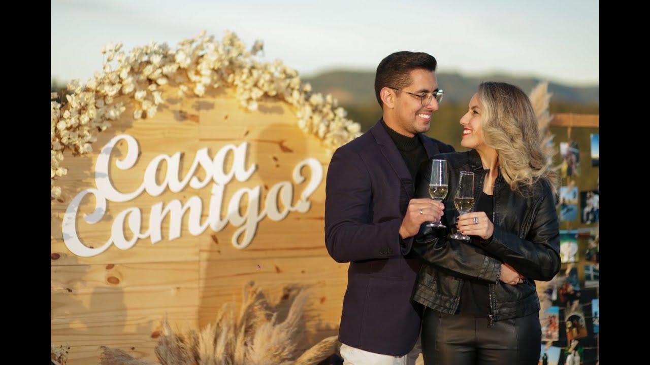 Pedido de Casamento na Serra Gaúcha - Nayara e Renan