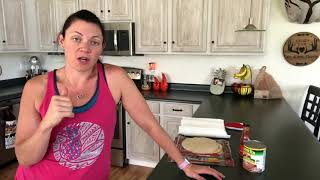 Weight Watchers freestyle bean burrito 1sp