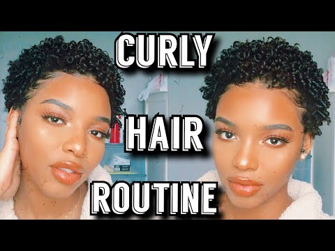 curly-hair-routine-2020-|-wash-and-go-for-short-curly-hair-|-how-to-style-hair-after-the-big-chop