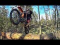KTM 300 Enduro Vlog Ep 23   Buying A Used Dirt Bike & Log Hopping