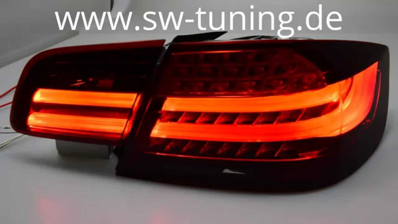 Sw Celis Led Ruckleuchten Fur Bmw 3er E92 Coupe 04 14 Red Smoke Auch Lci Sw Tuning