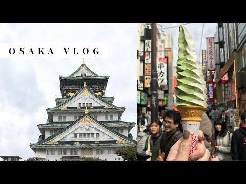Osaka Japan Travel Vlog 2017 🍺🇯🇵🦌 Nara Park, Dōtonbori, Osaka Castle, Shinsaibashi, Airbnb Tour