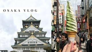 Gambar cover Osaka Japan Travel Vlog 2017 🍺🇯🇵🦌 Nara Park, Dōtonbori, Osaka Castle, Shinsaibashi, Airbnb Tour
