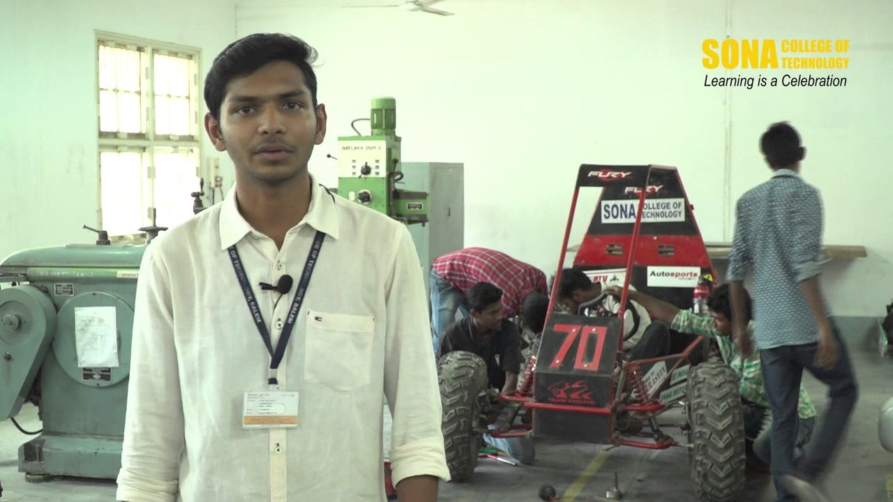 Lab Facility | Mechanical Engineering | Sona College of Technology