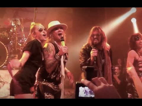Steel Panther Pour some sugar on me ft Miley Cyrus House of blues Aug 03 2015