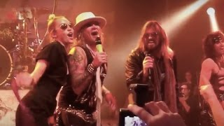 Repeat youtube video Steel Panther Pour some sugar on me ft Miley Cyrus House of blues Aug 03 2015