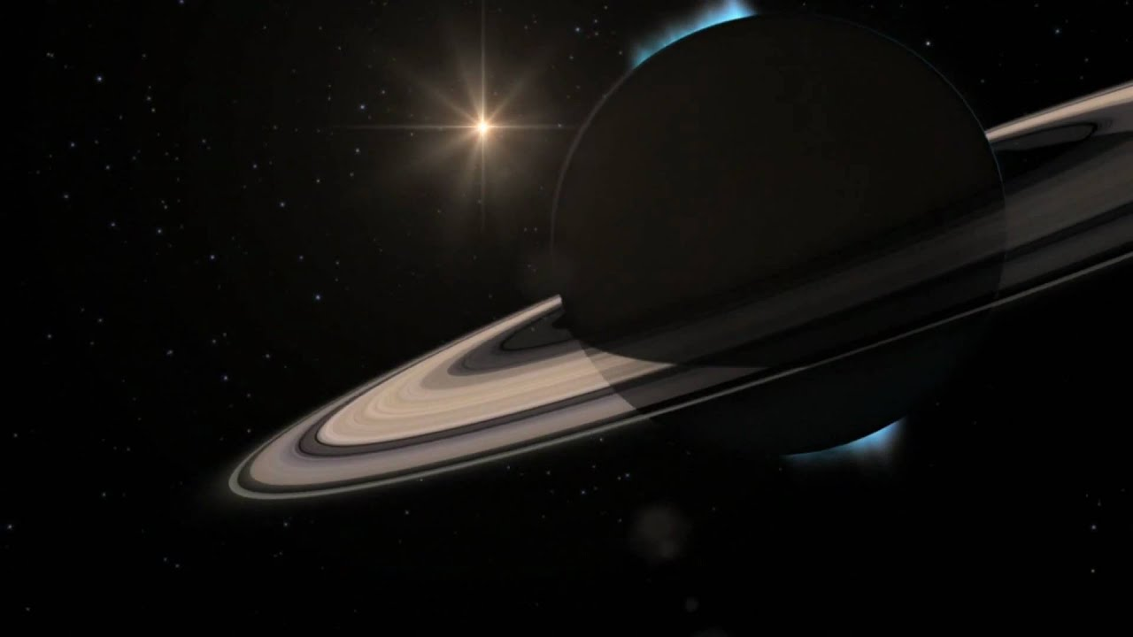 Animation Of The Sun Passing Behind Saturn [1080p] - YouTube View Of The Sun From Saturn