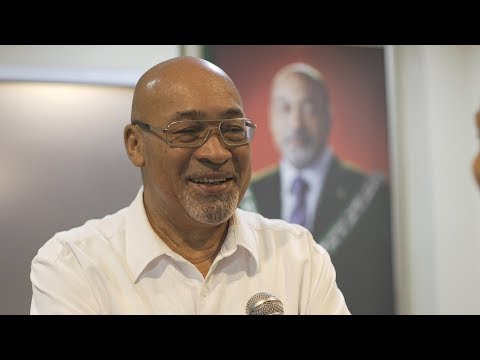 PRESIDENT BOUTERSE TERUG IN SURINAME