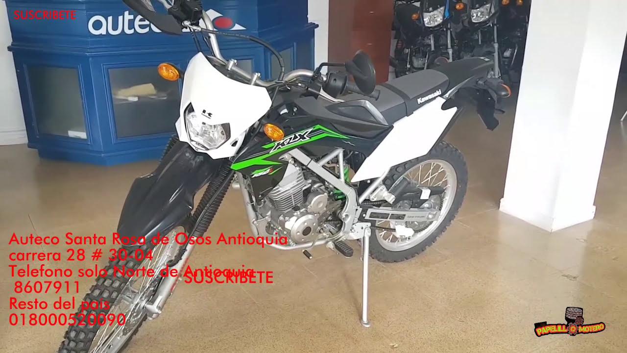 Nueva Klx 150 De Kawasaki Precio Y Ficha Técnica Novo Klx 150 Da
