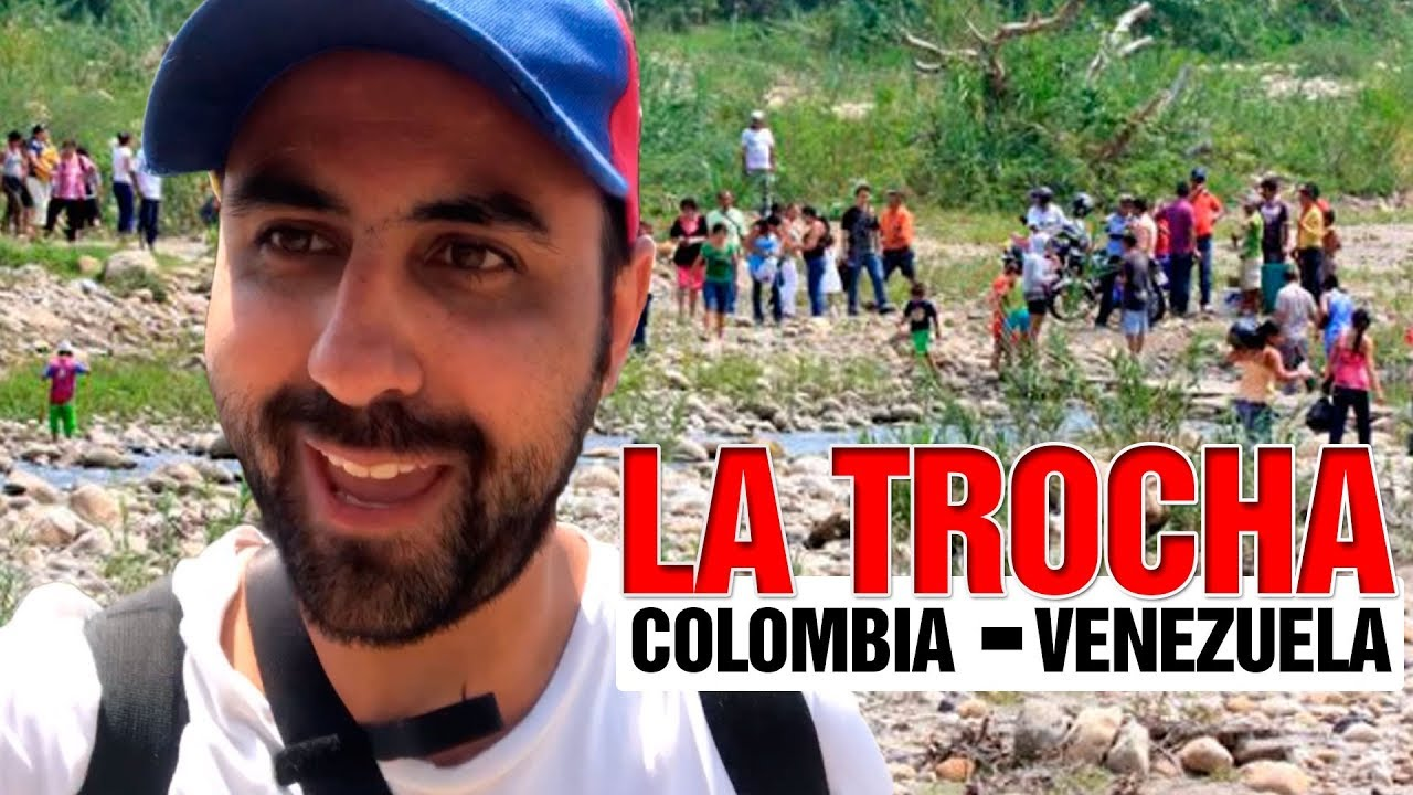 Download PASANDO LA TROCHA frontera Venezuela Colombia puente Simon Bolivar