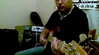avalon u5 slap bass improvisation